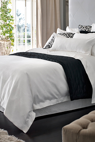 SHERIDAN Keele cotton percale quilt cover set qb