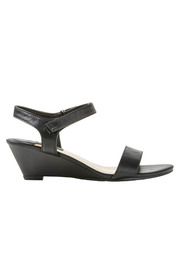 KHOKO Queen Low Wedge Ankle Strap Heel