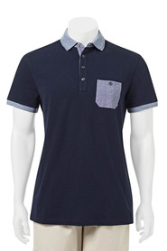UJC SLUB POLO W CHEST PKT 07UJCP504