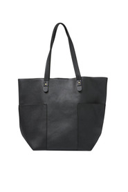 L&M POCKET DETAIL SHOPPER TOTE X7LMB308