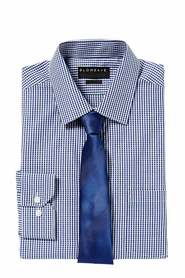 GLOWEAVE Gingham check shirt