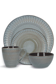 MIKASA Broadway 16 Piece Dinnerware Set