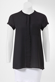SIMPLY VERA VERA WANG Pocket Shirt