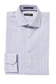 PIERRE CARDIN Jumbo check shirt