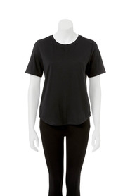 LMA ACTIVE Womens v insert loose fit tee