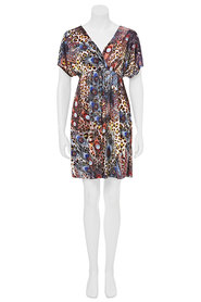 CHERRYLANE PEACOCK XOVER DRESS 77732HA