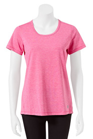 LMA ACTIVE Womens Shadow Stripe Tee