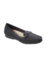 Hush pup usha twist dtl lthr loafer