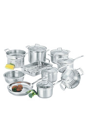 SCANPAN 10Pc impact stainless steel cookset