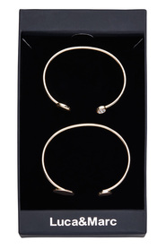 LUCA & MARC DOUBLE CUFF GIFT BOX LM002BX