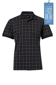 BRONSON PRINTED CHECK POLO 07BPP5