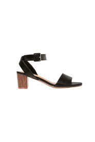Svvw gale ankle strap low block heel