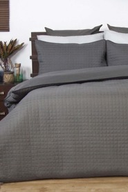 ARDOR Box quilted tailored edge quilt cover set qb
