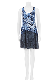 CHERRYLANE LEOPARD ACTION DRESS 77731HA