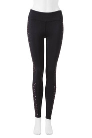 LMA ACTIVE Womens print panelled tight