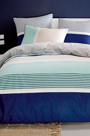 DECO Kennedy cotton percale quilt cover set kb