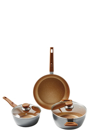 Flavorstone 5pc copper variety cook set