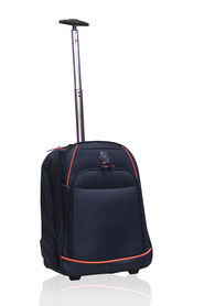 Tosca skyhigh trolley backpack navy