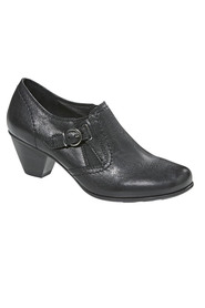 EASYSTEP Frame Buckle Detail Ankle Boot