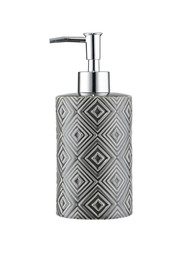 Mozi embossed soap pump charcoal