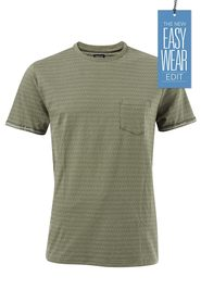 URBAN JEANS CO Jacquard reverse pocket tshirt