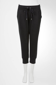Sb 3q length trackpant w sueded face