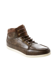 AIRWALK Oscar lace up high top casual boot