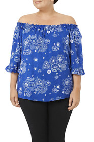 Tania kay off shoulder blouse o7tkb015