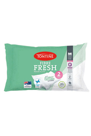TONTINE 2pk Fibre Fresh Pillows Medium