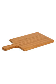 WILTSHIRE Gourmet rubberwood paddle board 34 x 20cm