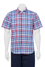 Highlander ss check shirt 06hs386