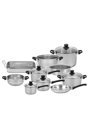 SCANPAN 10Pc  classic inox stainless steel cookset