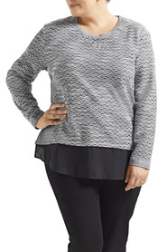 Tania kay txture wov hem sweat apr-hs04