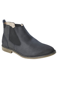 HUSH PUPPIES Unite Leather Gusset Boot