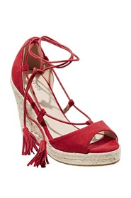 Lavish perry lacy up wedge