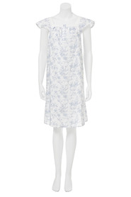 SAVANNAH Short slevee woven nightie