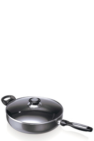 BEKA Induction non stick saucepan with lid and helper handle 28cm