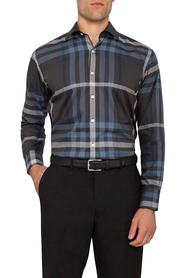 BRACKS Blue Stripe Shirt