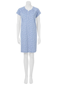 KHOKO SHORT SLEEVE NIGHTIE 07ZK003