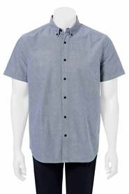 URBAN JEANS CO Weave print short sleeve shirt