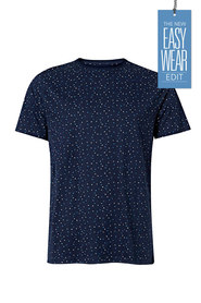 URBAN JEANS CO Geometric all over print tshirt