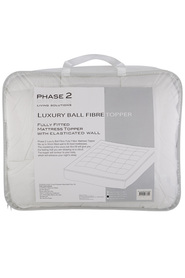 PHASE 2 600gsm Luxury Ball Fibre Mattress Topper KB