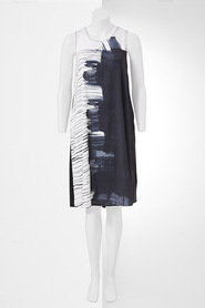SIMPLY VERA VERA WANG Paint Stripe Dress