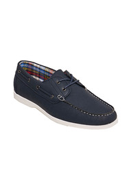 Compass bigg lace up boat shoe