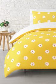 MOZI Daisy cotton percale quilt cover set qb