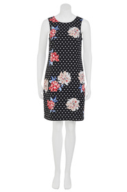 KHOKO Lauren Floral Spot Shift Dress