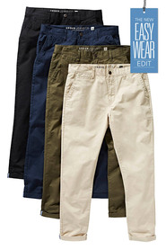URBAN JEANS CO Tapered chino pant