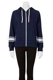 LMA ACTIVE Womens striped hooded jacket