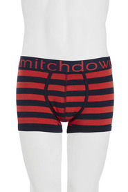 MITCH DOWD Rugby Stripe Marle Fitted Trunk - Style No. VS002