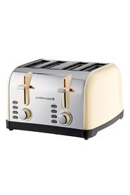 S+nobel4sl toaster cream hta6401-cr
